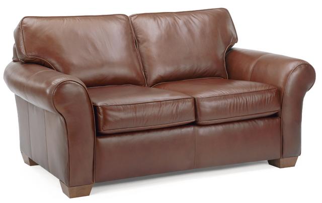 Flexsteel® Vail Leather Loveseat-3305-20