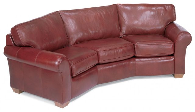 Flexsteel® Vail Leather Conversation Sofa-3305-323