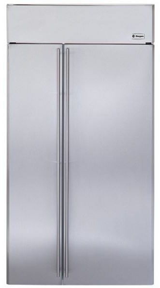 GE® Monogram® 25 Cu. Ft. Built-In Side-by-Side Refrigerator-Panel Ready-ZISS420NHSS
