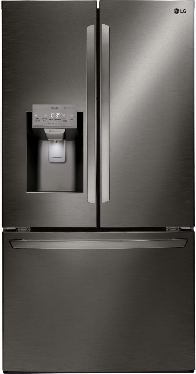 LG 27.9 Cu. Ft. Black Stainless Steel French Door Refrigerator-LFXS28968D