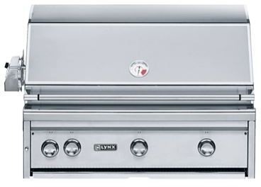 """Lynx Professional Series 36"""" Built In Grill-L36PSR-2NG"""