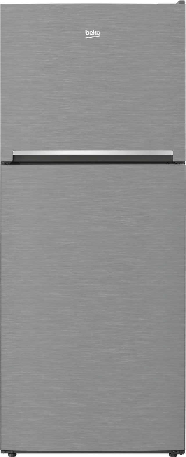 Beko 13.5 Cu. Ft. Stainless Steel Counter Depth Top Freezer Refrigerator-BFTF2716SS-13-4312