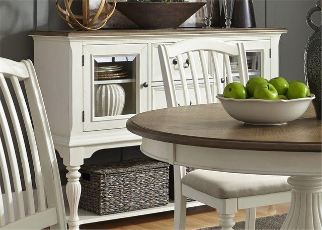 Liberty Furniture Cumberland Creek White Server-334-SR5640