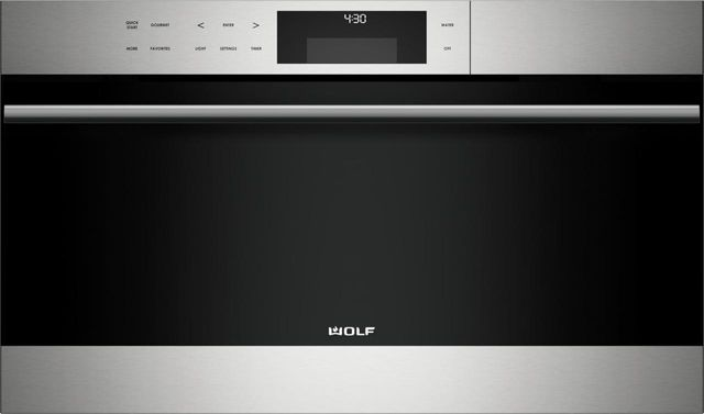 """Wolf® E Series 30"""" Stainless Steel Transitional Convection Steam Oven-CSO30TE/S/TH"""