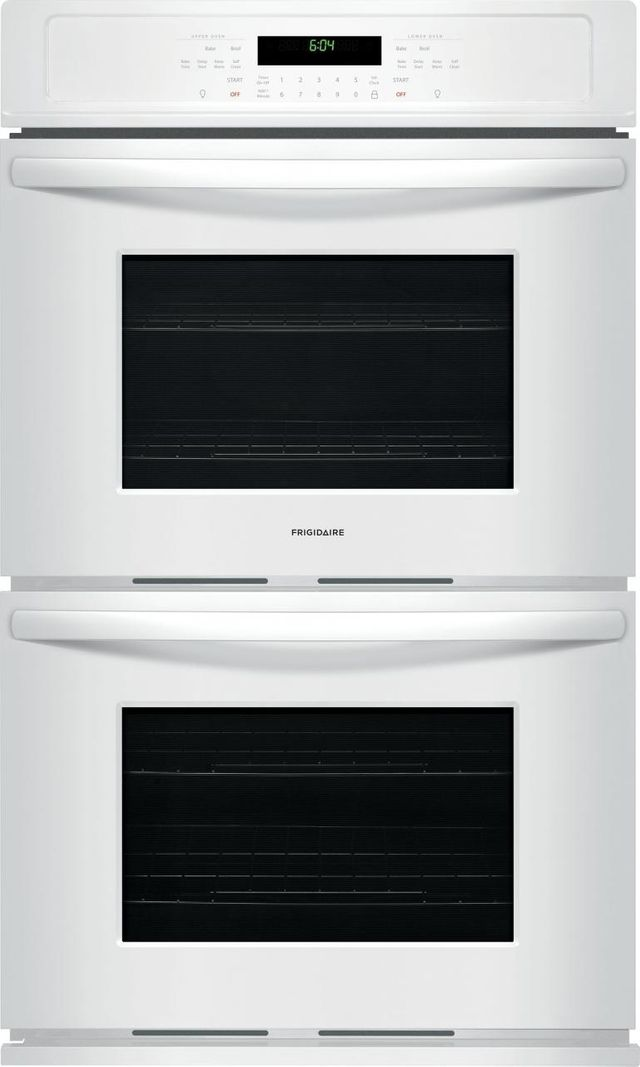 """Frigidaire® 30"""" White Electric Double Oven Built In-FFET3026TW"""