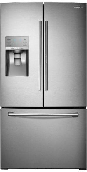 Samsung 30.0 Cu. Ft. Bottom Freezer Refrigerator-Stainless Steel-RF30HDEDTSR