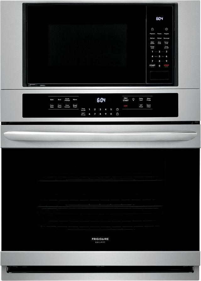 """Frigidaire Gallery® 30"""" Stainless Steel Electric Oven/Micro Combo Built In-FGMC3066UF"""