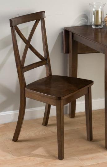 Jofran Inc. Taylor Cherry X-Back Chair-342-915KD