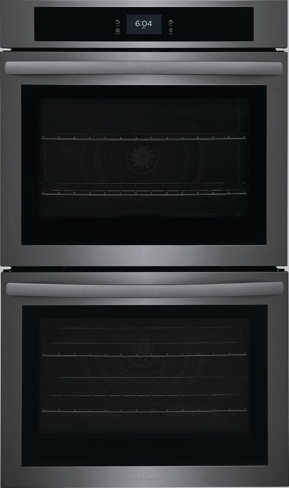 """Frigidaire® 30"""" Black Stainless Steel Double Electric Wall Oven-FCWD3027AD"""