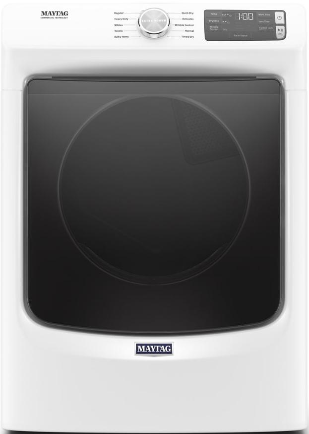 Maytag® 7.3 Cu. Ft. White Front Load Electric Dryer-MED5630HW