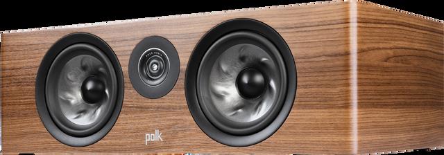 "Polk Audio Reserve R400 6.5"" Brown Large Center Channel Speaker -R400 Brown"