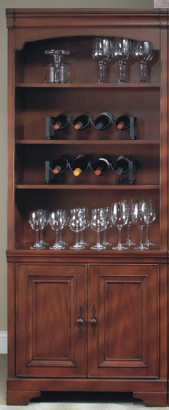 Aspenhome® Richmond Brown Burgundy Open Bookcases-I40-333