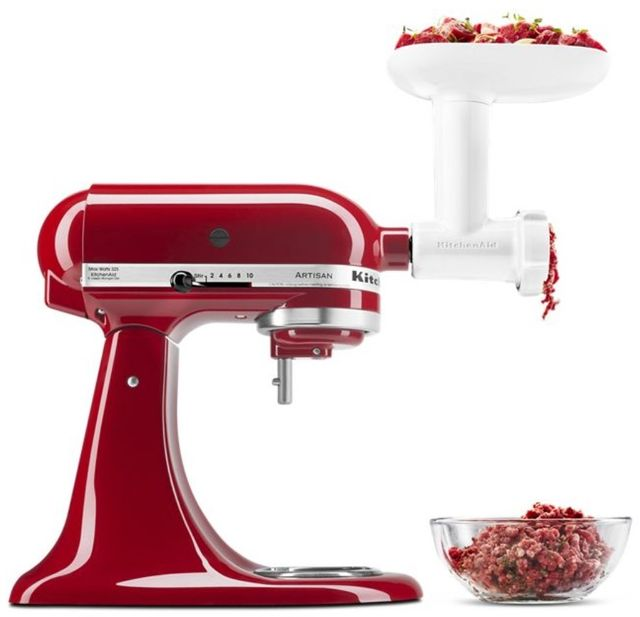 KitchenAid® Food Grinder Stand Mixer Attachment-KSMFGA
