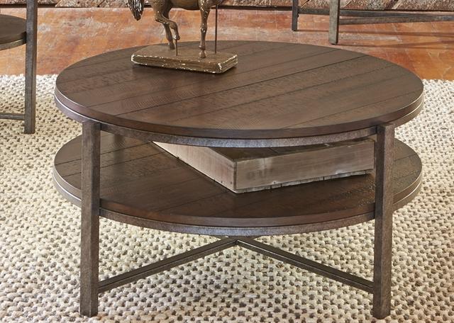 Liberty Furniture Chesapeake Round Cocktail Table-348-OT1010
