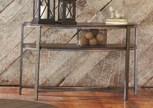 Liberty Furniture Breckinridge Demilune Sofa Table-348-OT1030