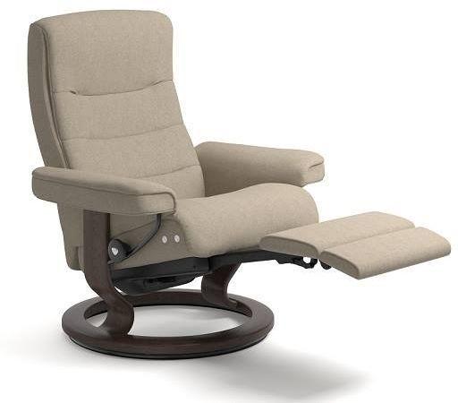 Stressless® by Ekornes® Nordic Medium Leg Comfort Recliner-1283715