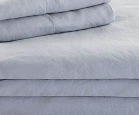 Malouf® Sleep Woven™ French Linen Smoke California King Sheet Set-WO162CKSMLS