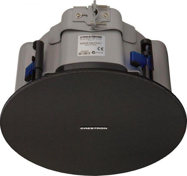 "Crestron® Saros® Low-Profile 6.5"" 2-Way In-Ceiling Speaker-Black-SAROS IC6LPT-B-T-EACH"