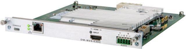 Crestron® DM NVX® 4K60 4:4:4 HDR Network AV Encoder Card-DM-NVX-E30C