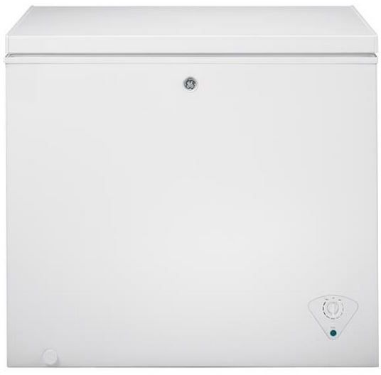 GE 7.0 Cu. Ft. Chest Freezer-White-FCM7SHWW