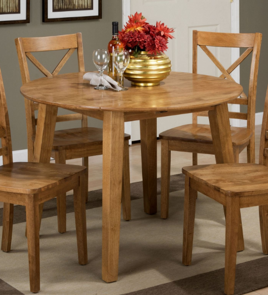 Jofran Inc. Simplicity Round Drop Leaf Table-352-28