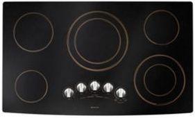 """JennAir® 36"""" Electric Radiant Cooktop-Black-JEC9536BDR"""