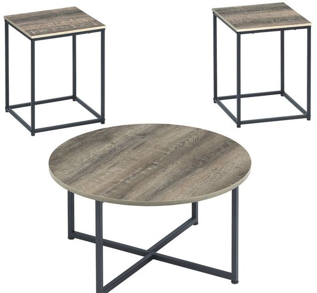 Signature Design by Ashley® Wadeworth Two-tone Set of 3 Occasional Table Set-T103-213