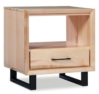 Durham Furniture Odyssey Solid Accents Natural End Table-186-534