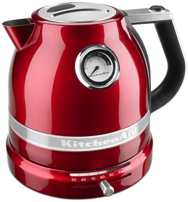 KitchenAid® Pro Line® Series 1.5 L Candy Apple Red Electric Kettle-KEK1522CA
