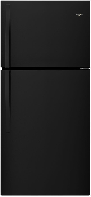 Whirlpool® 19.14 Cu. Ft. Top Freezer Refrigerator-Black-WRT519SZDB