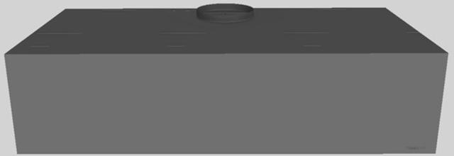 "Vent-A-Hood® 48"" Wall Mounted Range Hood-Gunsmoke-CWH-248 GS"