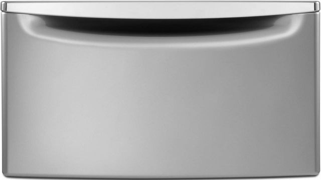 """Maytag® 15.5"""" Gray Pedestal for Front Load Washer and Dryer with Storage-XHPC155YC"""