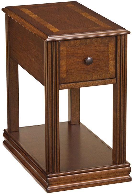 Breegin Brown Chair Side End Table-T007-527