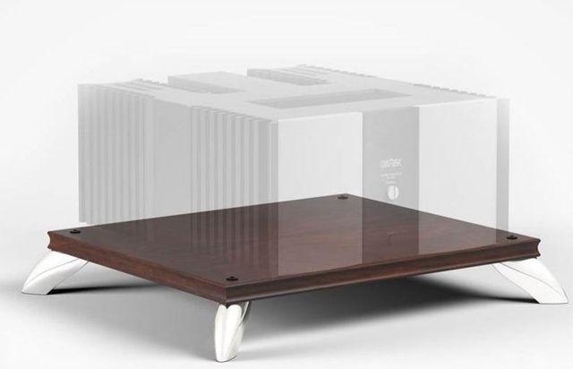 Salamander Designs® Synergy Amplifier Stand-Dark Walnut-SAMP/W
