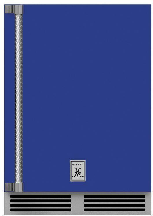Hestan 5.2 Cu. Ft. Prince Outdoor Undercounter Refrigerator-GRSL24-BU