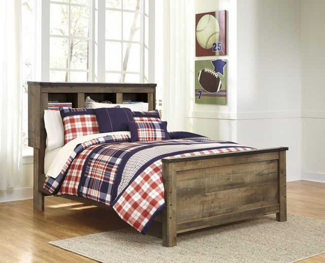 Signature Design by Ashley® Trinell Rustic Brown Full Panel Footboard-B446-84