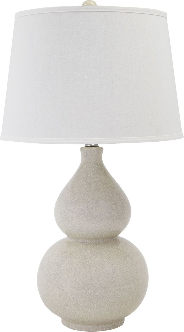 Signature Design by Ashley® Saffi Cream Table Lamp-L100074