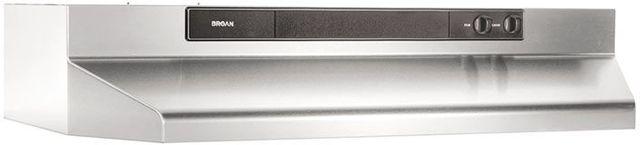 """Broan® 46000 Series 30"""" Stainless Steel Under Cabinet Range Hood-463004"""