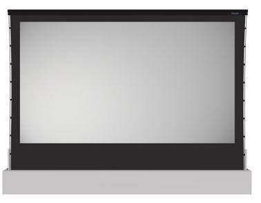 Stewart Filmscreen AllRise Retractable, Floor Mounted Screen System-AllRise