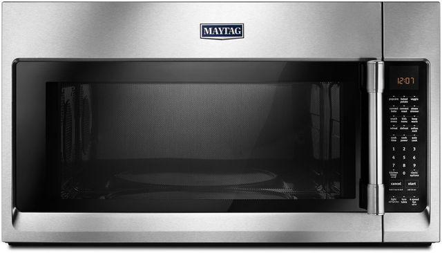 Maytag® 1.9 Cu. Ft. Fingerprint Resistant Stainless Steel Over The Range Microwave-MMV6190FZ