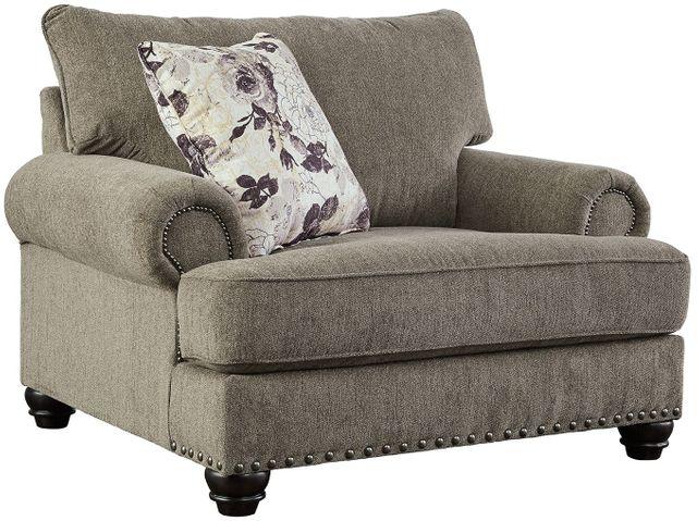 Benchcraft® Sembler Cobblestone Chair and a Half-2340223