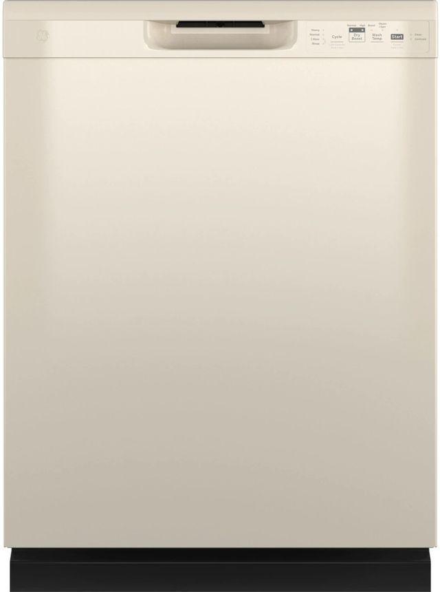 "GE® 24"" Bisque Built In Dishwasher-GDF535PGRCC"