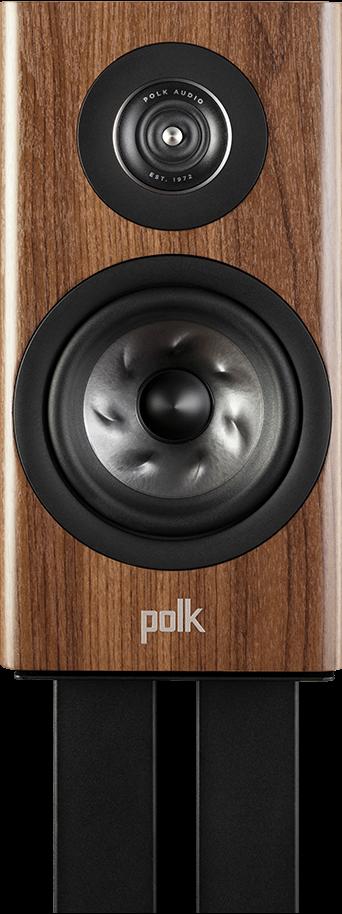 "Polk Audio Reserve R100 5.25"" Brown Bookshelf Speaker -R100 Brown"