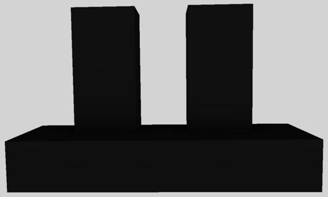 "Vent-A-Hood® 54"" Contemporary Wall Mounted Range Hood-Black-CWEH9-454 BL"