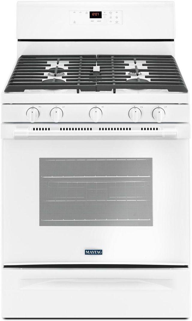 "Maytag® 30"" White Freestanding Gas Range-MGR6600FW"