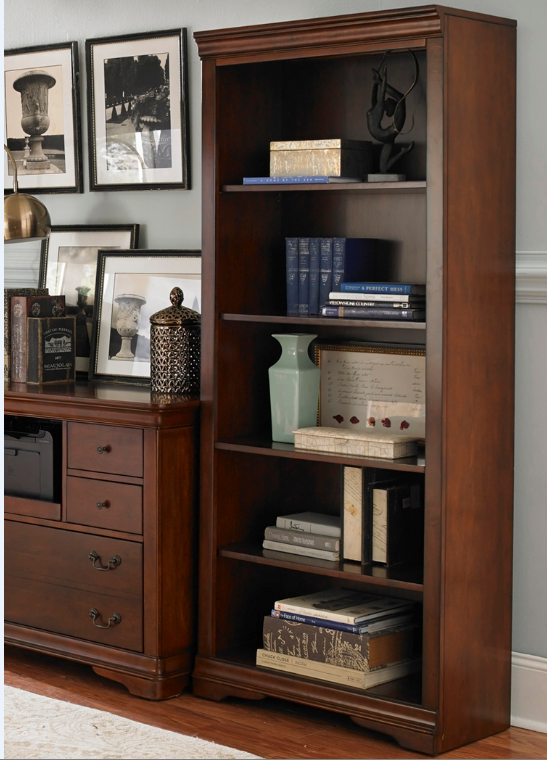 Liberty Brookview Home Office Open Bookcase-378-HO201
