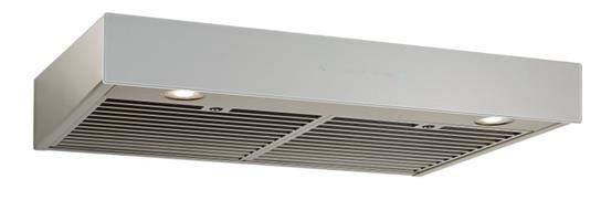"Best® Ispira 30"" Stainless Steel Brushed Grey Glass Under Cabinet Range Hood-UCB3I30SBS"