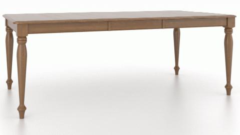 Table à manger rectangulaire Gourmet Canadel®-TRE04262-VA-1