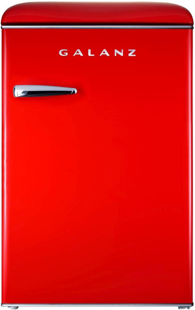 Galanz 3.1 Cu. Ft. Hot Rod Red Upright Freezer-GLF31URDR