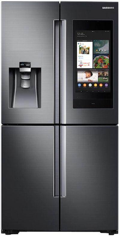 Samsung 28 Cu. Ft. Capacity French Door Refrigerator-Fingerprint Resistant Black Stainless Steel-RF28N9780SG-RF28N9780SG